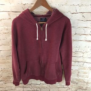 J.Crew Authentic Fleece Zip-Up Hoodie